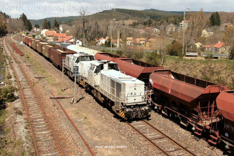 Dernier train ECR 28/04/2017 à La Bastide Saint Laurent les Bains (F-48)
