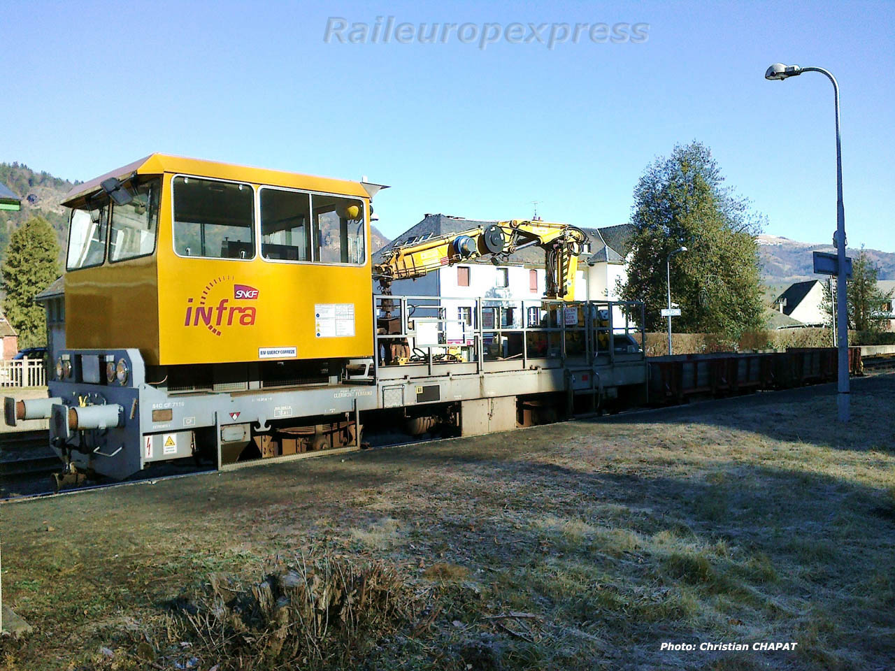 Draisine SNCF à Vic sur Cère (F 15)