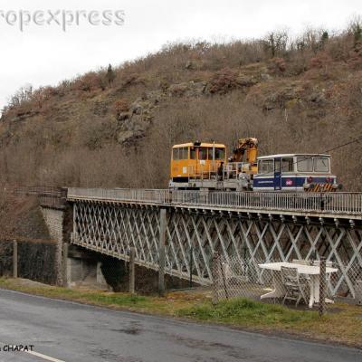 Draisines SNCF à Lempdes sur Allagnon (F-43)