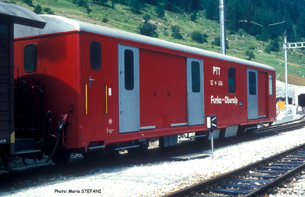 DZ 4354 FO à Oberwald (CH)