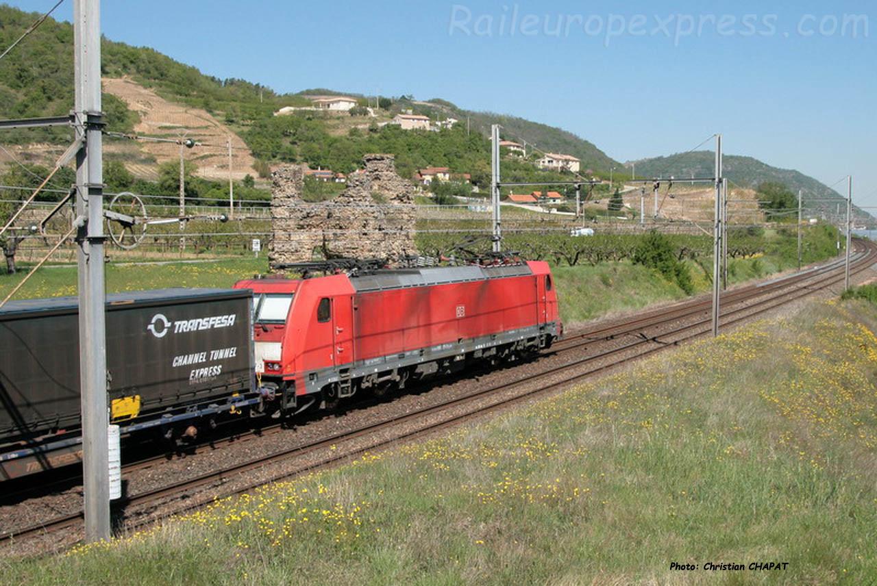 E 186 DB à Saint Bosc (F-07)