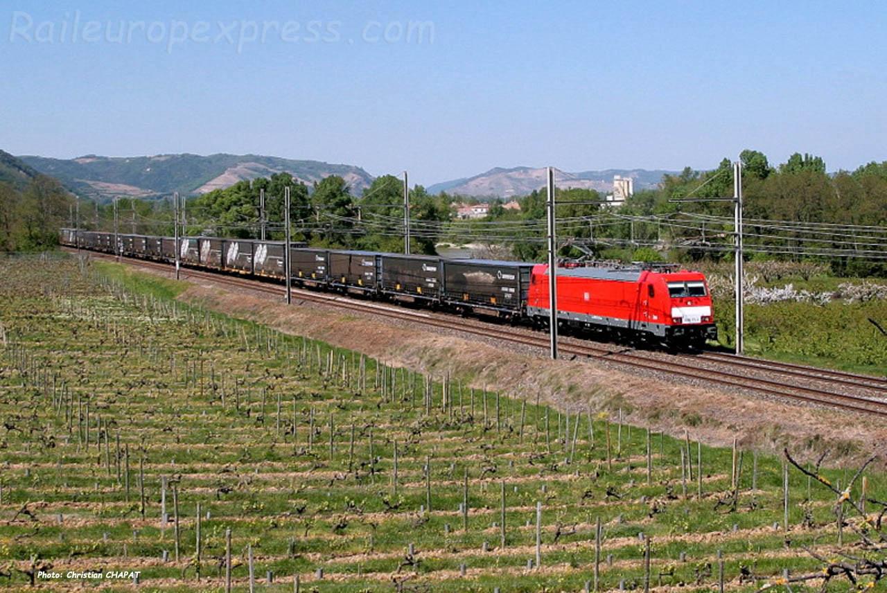 E 186 DB à Châteaubourg (F-07)