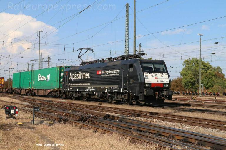 E 189 284 CFF à Basel (CH)