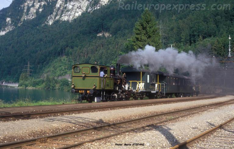 E 3/3 BLS GTB à Darlingen (CH)