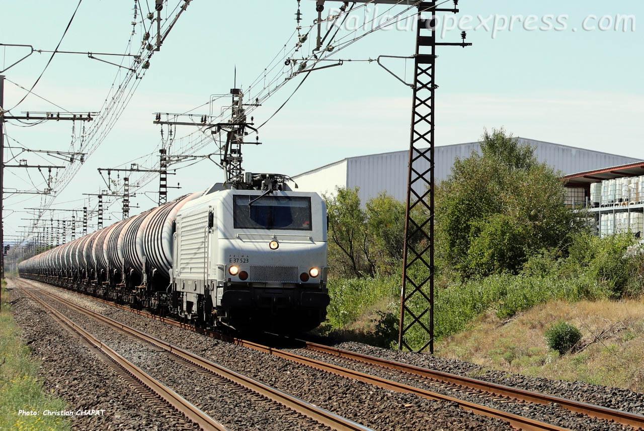 E 37 523 à Lézignan (F-11)