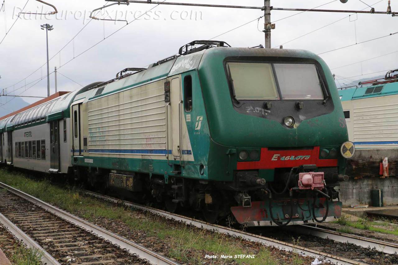 E 464 075 FS à Domodossola (I)