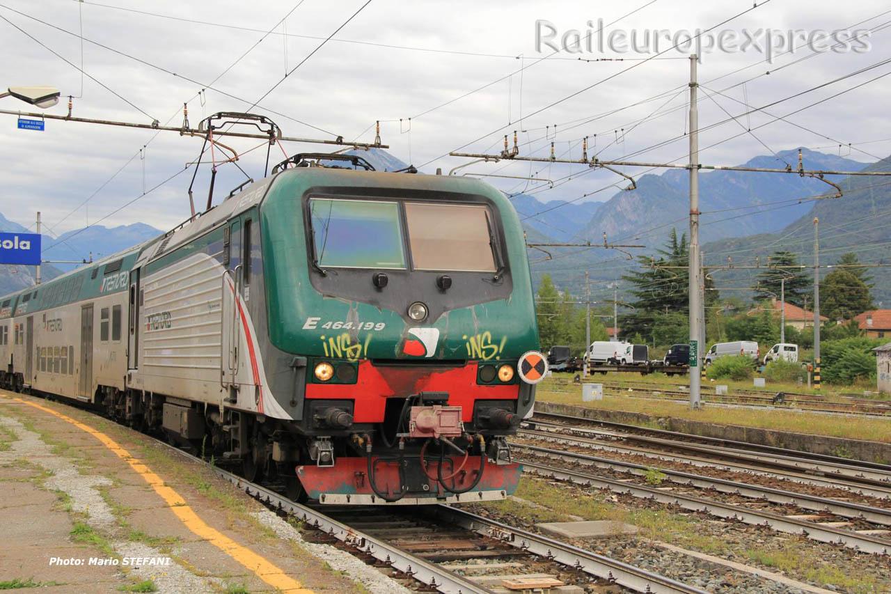 E 464 199 FS à Domodossola (I)