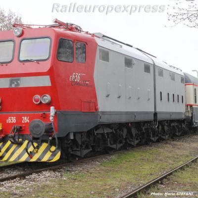 E 636 284 FS à Milan