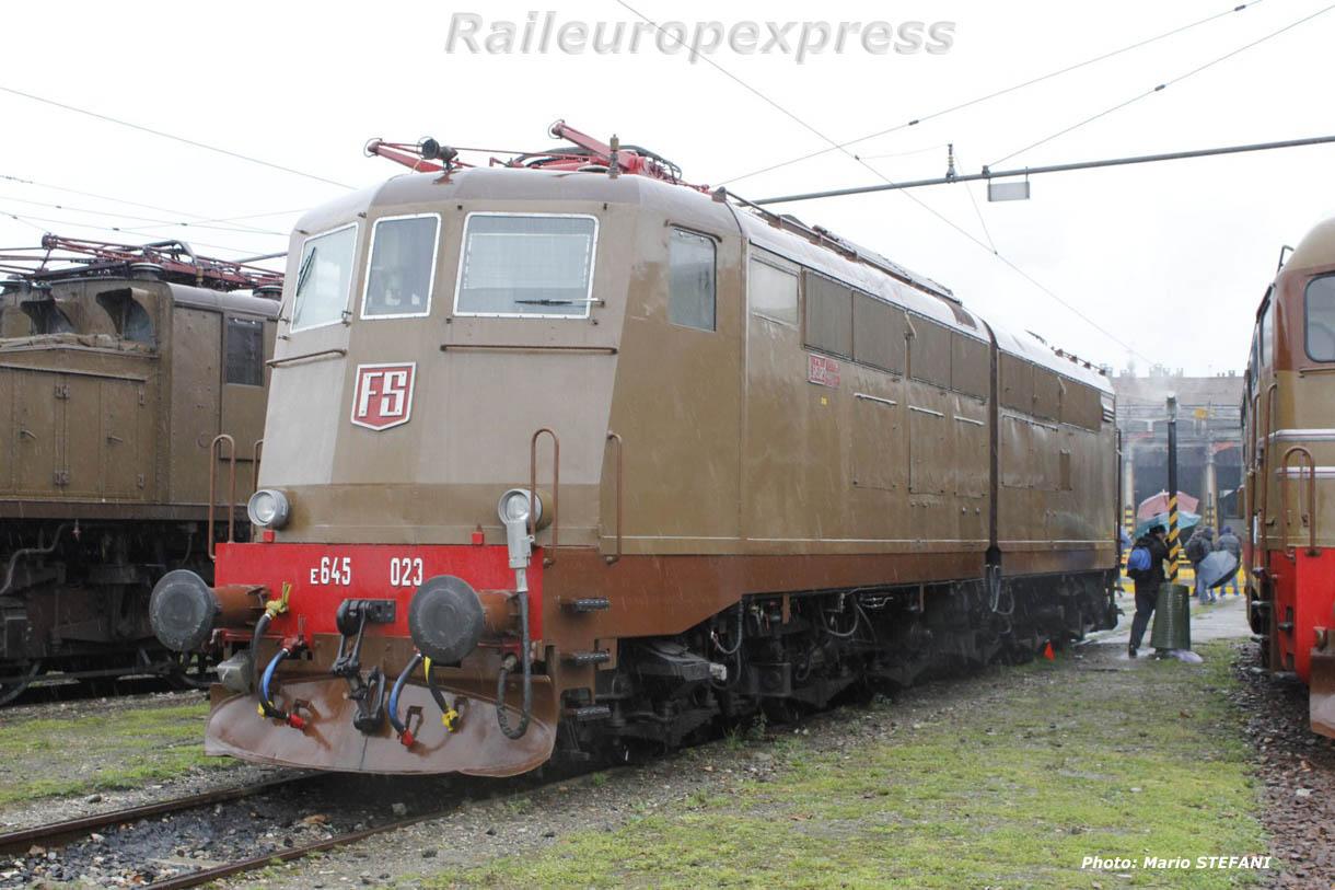 E 645 023 FS à Milan