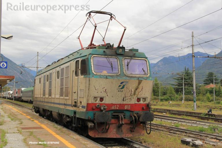 E 652 018 FS à Domodossola (I)