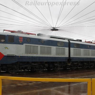E 656 025 FS à Milan
