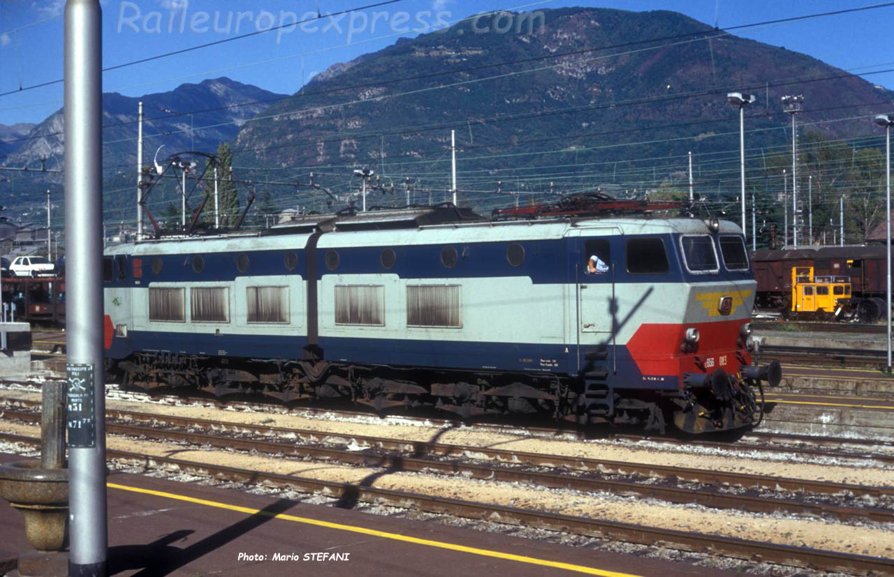 E 656 083 FS à Domodossola (I)