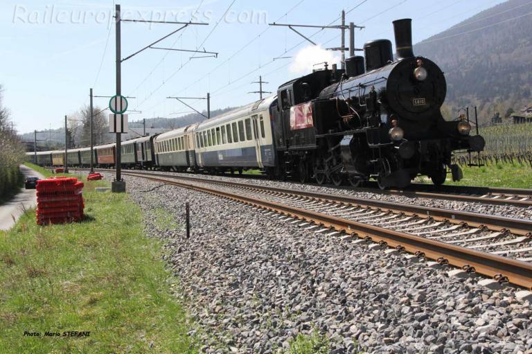 Eb 5810 CFF à Boudry (CH)