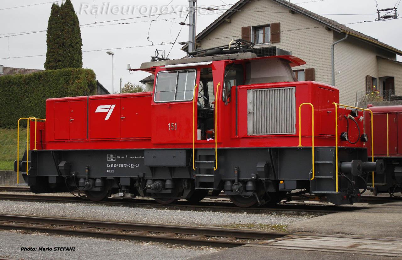 Ee 91 85 4 936 151-0 CJ à Bonfol (CH)