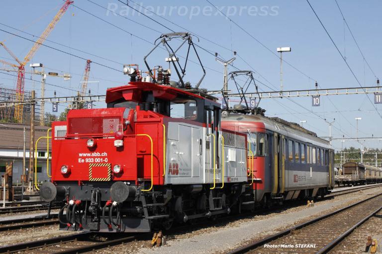 Ee 933 001-0 CFF à Bern Weyermanshaus