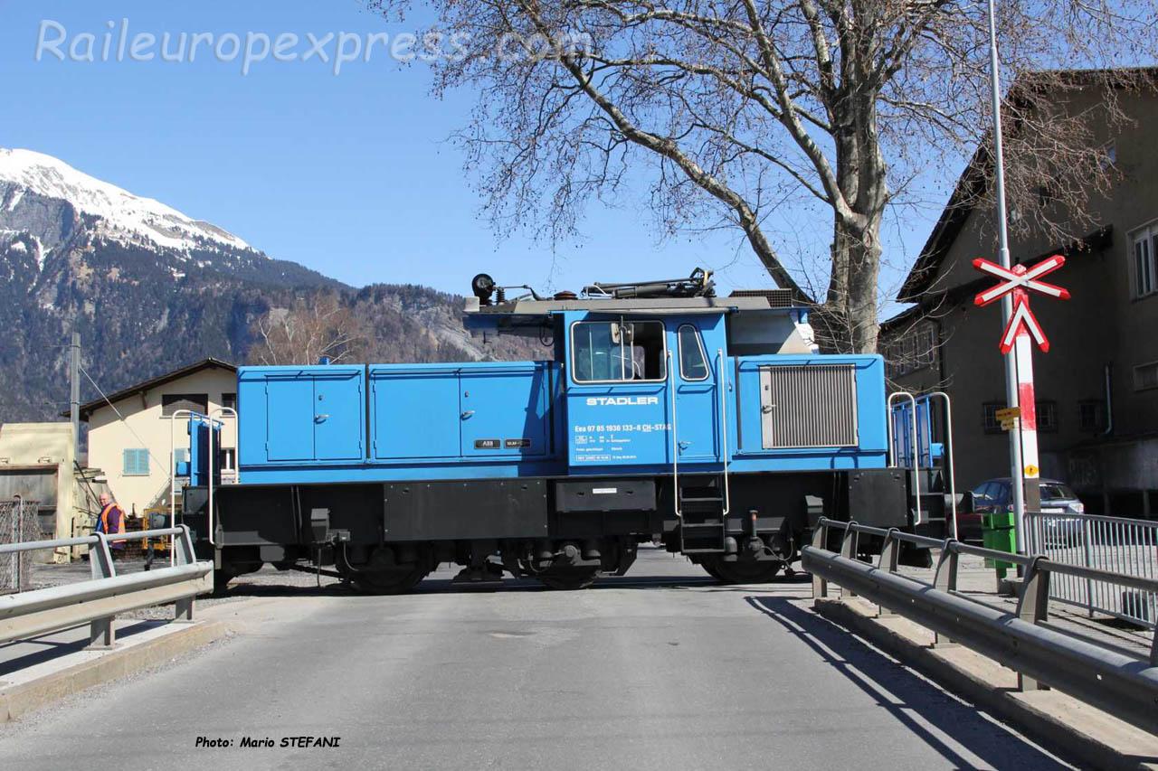 Eea 936 133-8 Stadler à Lanquart (CH)