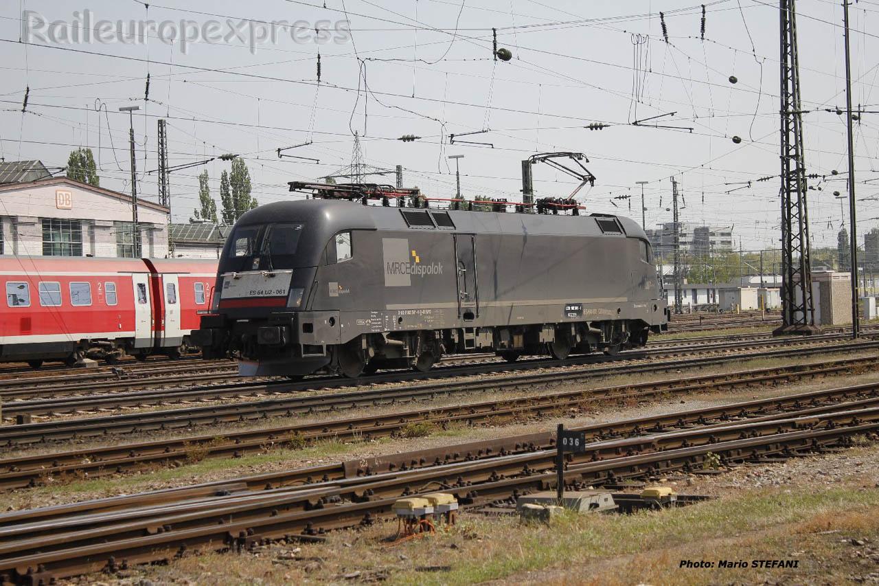 ES 64 U2 061 MRCE à Basel (CH)