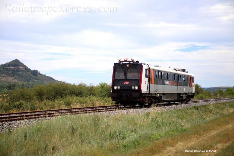 ESV 701 Vigirail SNCF à Issoire (F-63)