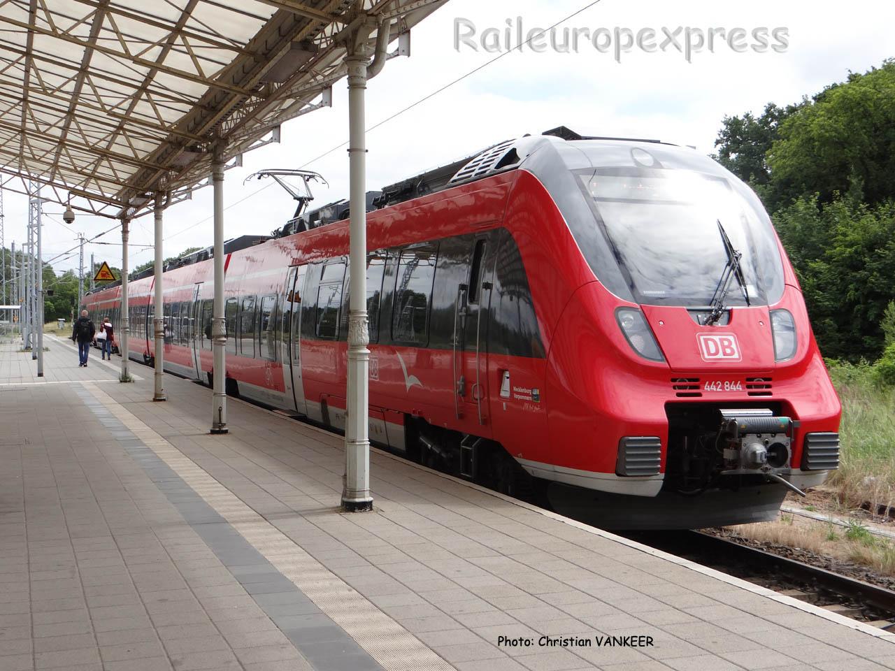 ET 442 844 DB à Schwerin (D)
