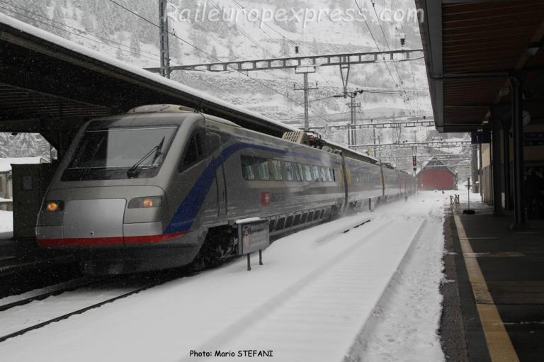 ETR 470 CFF à Goeschenen (CH)