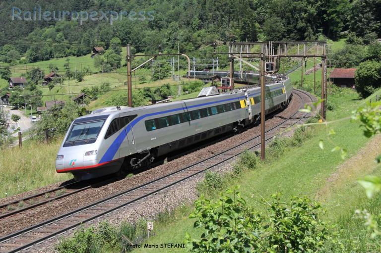 ETR 470 FS à Erstfeld (CH)