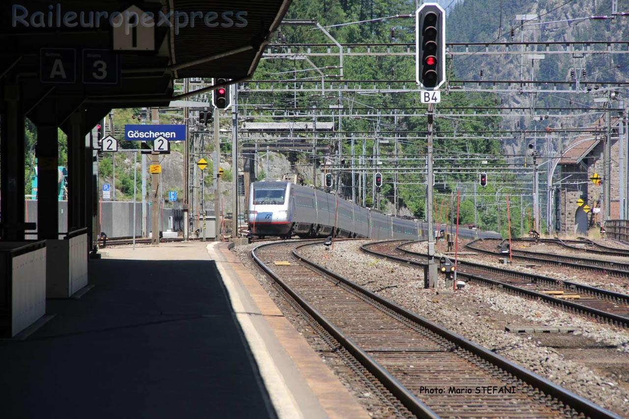 ETR 470 FS à Göschenen (CH)