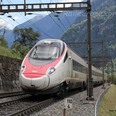 ETR 610 CFF à Fedoccio-Chiggiogna (CH)