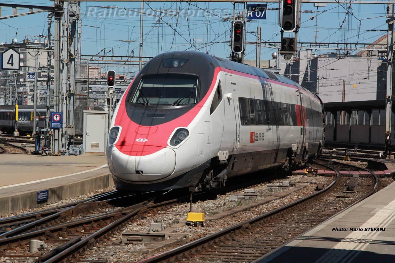 ETR 610 CFF à Genève (CH)