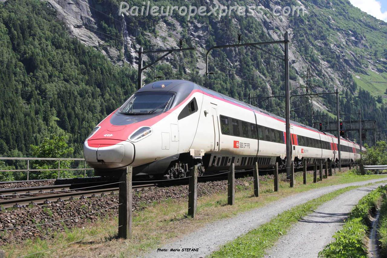 ETR 610 CFF à Göschenen (CH)