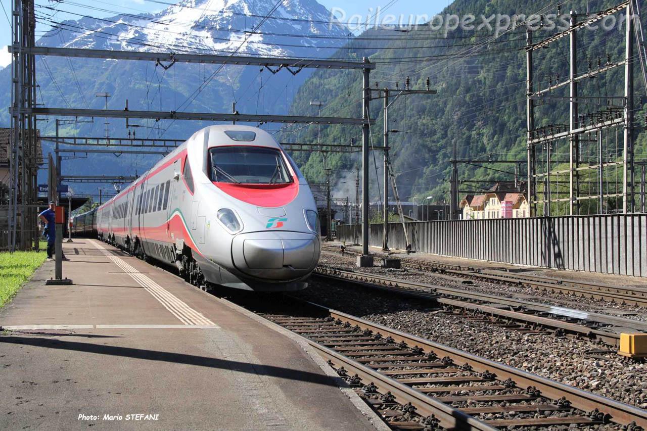 ETR 610 FS à Erstfeld (CH)