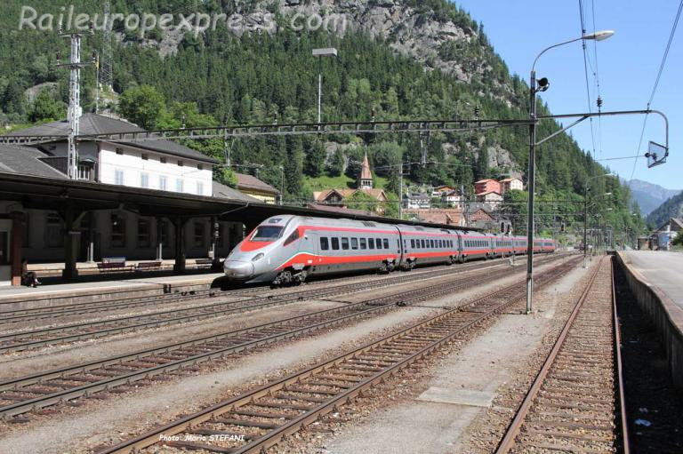 ETR 610 FS à Göschenen (CH)