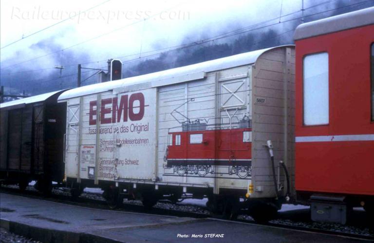 GBk v 5607 RhB à Chur (CH)