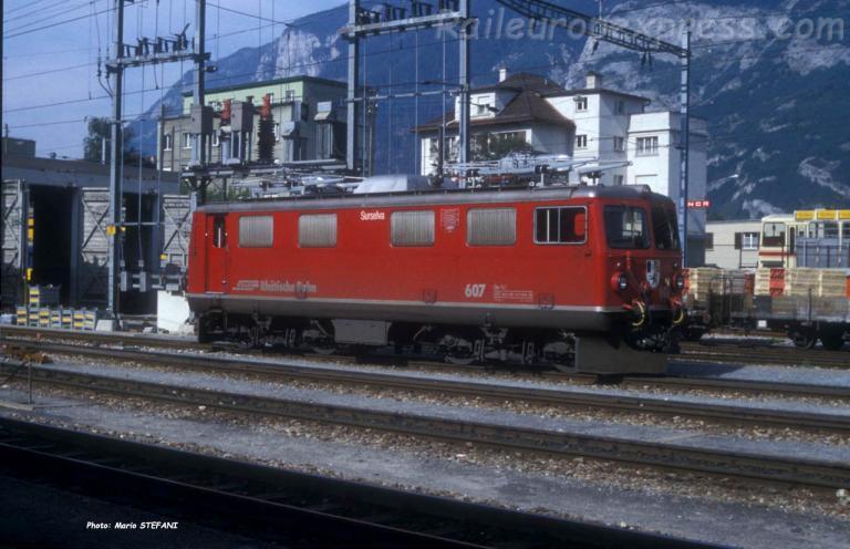 Ge 4/4 I 607 RhB à Chur (CH)