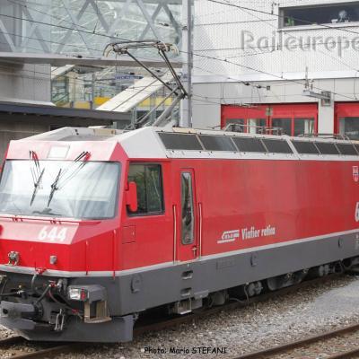 Ge 4/4 III 644 RhB à Chur (CH)