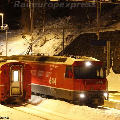 Ge 4-4 III 644 RhB à Filisur