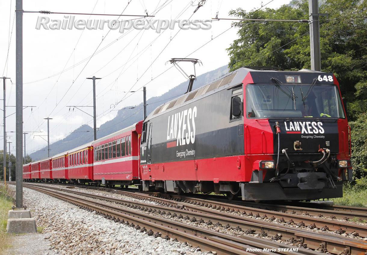 Ge 4/4 III 648 à Felsberg