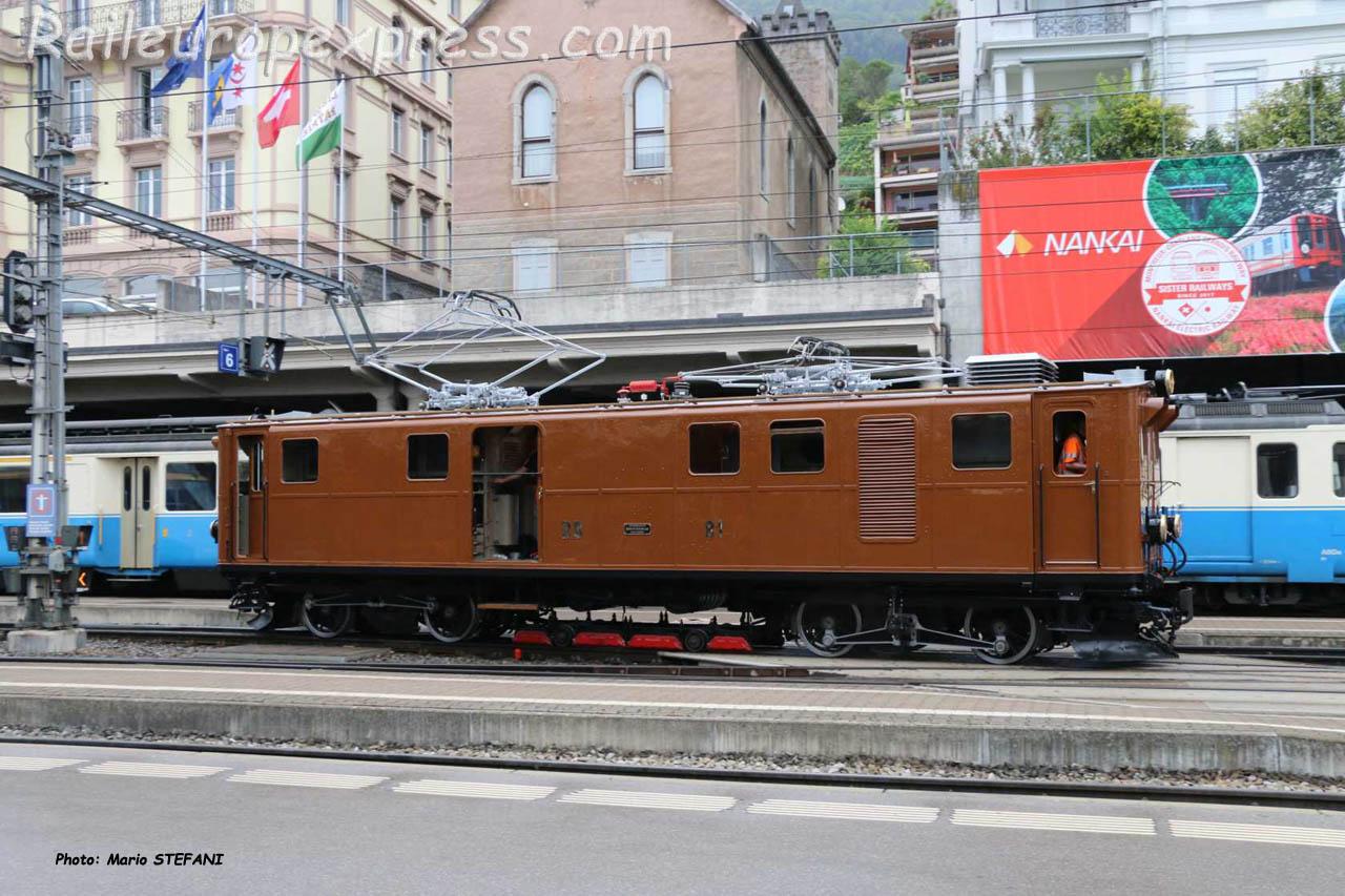Ge 4/4 81 RhB à Montreux (CH)