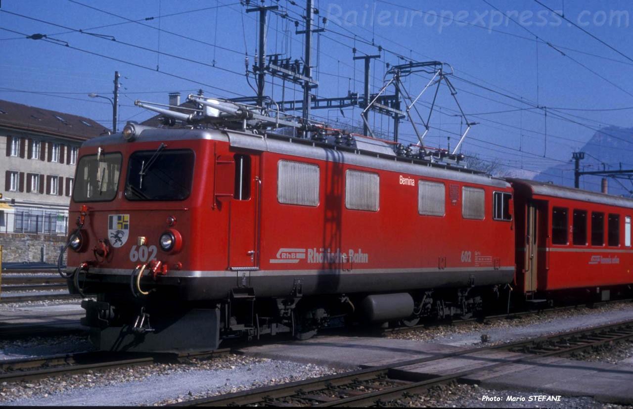 Ge 4/4 I 602 RhB à Chur (CH)