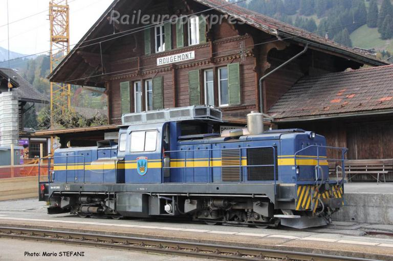 Gm 4/4 2003 MOB à Rougemont (CH)