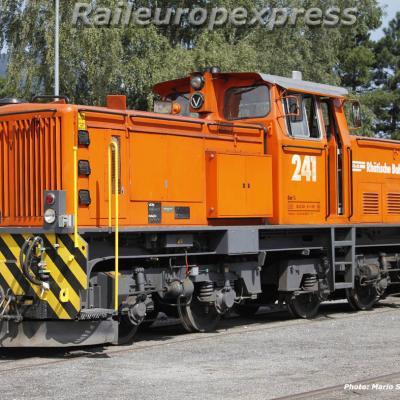 Gm 4/4 241 RhB à Untervaz