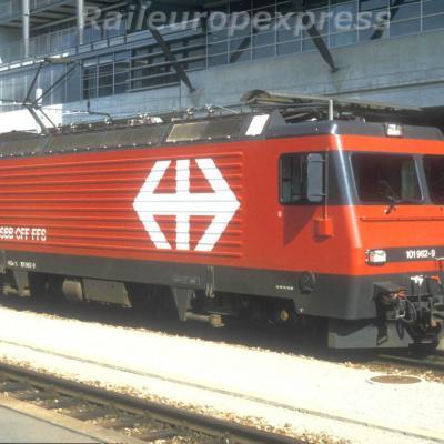HGe 101 962-9 CFF à Luzern