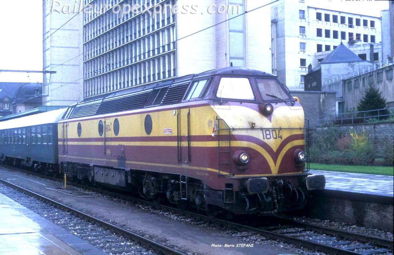 HLD 1804 CFL à Luxembourg (L)