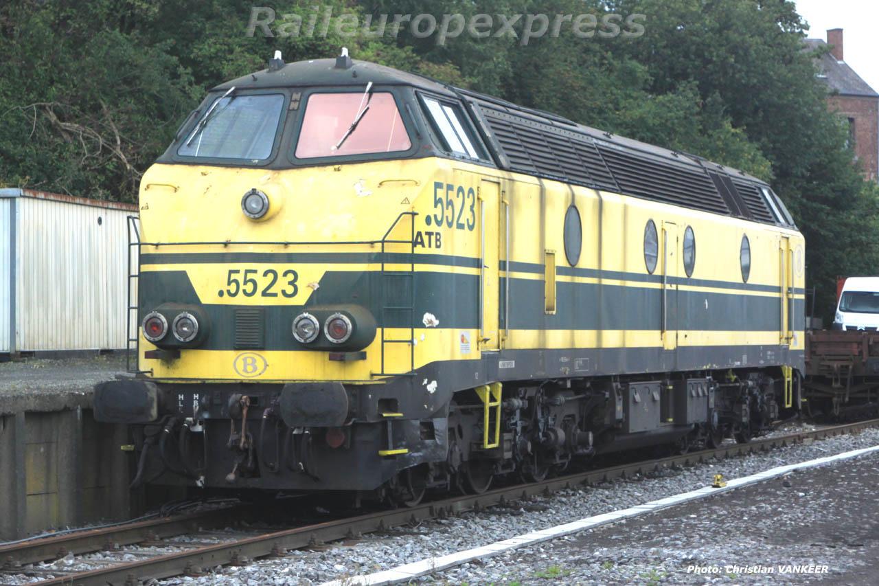 HLD 5523 train de travaux ligne 162