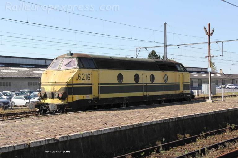 HLD 6216 SNCB à Arlon (B)