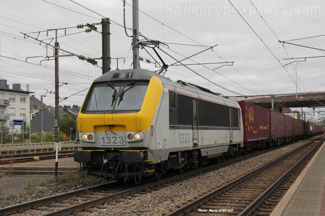 HLE 1323 SNCB à Bettembourg (L)