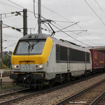 HLE 1323 SNCB à Bettembourg