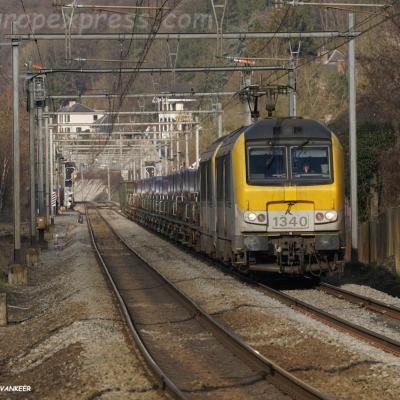 HLE 1340 SNCB à Godinne (B)