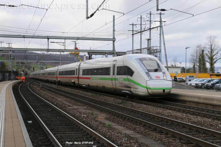 ICE 4 DB à Liestal (CH)