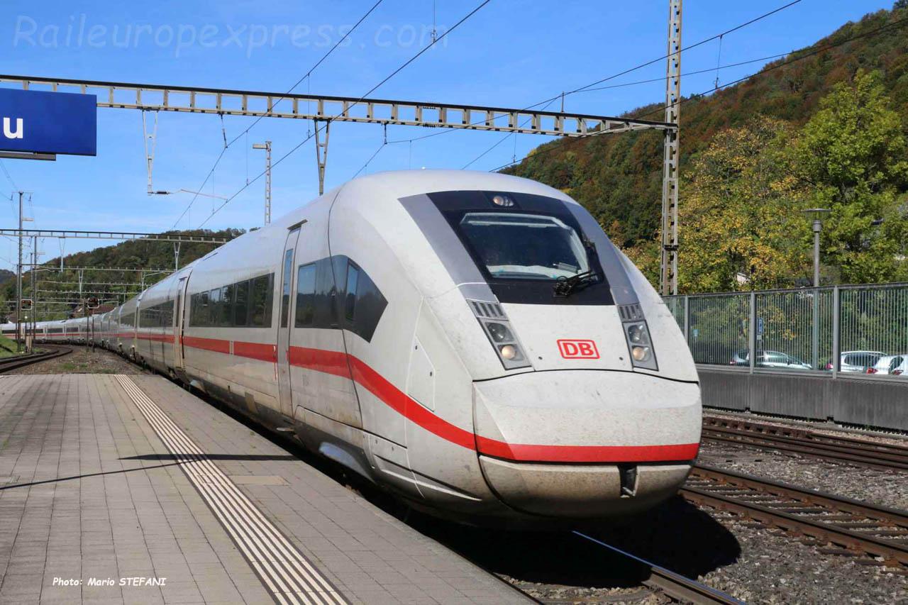 ICE DB à Tecknau (CH)