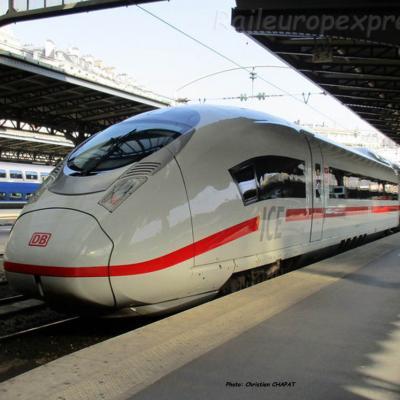 ICE DB en gare de Paris-Est (F-75)